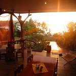 Sunset Casa Botania Romantic Deck
