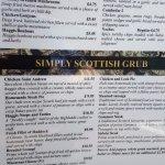 Peek at the menu