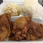 Chili Pepper Fried Chicken Lunch Plate