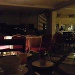 having our 'sahur' (early breakfast) in the dark