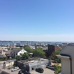 New Bedford Harbor from Whaling Museum roof.