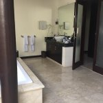 Spacious bathroom. 1 bedroom villa private pool