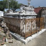 St. Louis Cemetery No. 1 Fenced Tomb