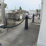 Saint Louis Cemetery No. 1-New Orleans Battalion of Artillery Tomb Canons