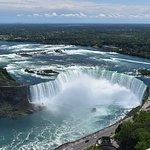 Our view of Horseshoe Falls from the observation tower