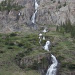 One of many waterfalls in the canyon