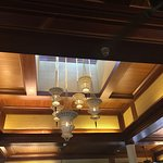 Beautiful restaurant and atmosphere. Got wonderful breakfast buffet every day. Kind, polite and