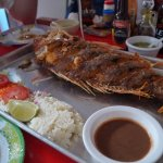 Red Snapper - you pick out the fish and they cook it for you