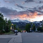 Sunset in Breckenridge