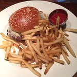 Simple Burger...not hot!