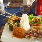 Traditional Indonesian dish