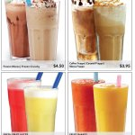 BLUE PUMPKIN'S MENU 2017 - BEVERAGES