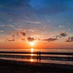 Sunset at Beringgis