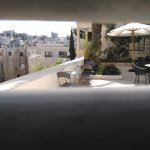 La terrasse de la fondation Darat Al Funun
