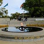 Eternal Flame at Kings Park War Memorial