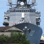 Japanese Ship In Dock