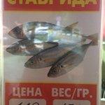 Очень вкусная черноморская рыба и мидии!