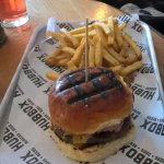 bbq cheese burger