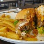 Pika Burger deliciousness!