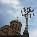Tsminda Sameba Cathedral Foto