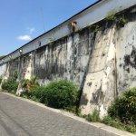 Walls around the Kraton
