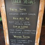Today's menu : Lunch Specials