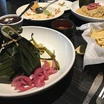 Carne Pibil — roast pork cooked in banana leaves (before it's opened)