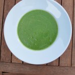 Isle of Wight Blue and broccoli soup.