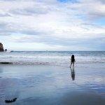 Tunnel Beach Dunedin.