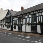 The Queens Head is said to be the oldest pub in Monmouth