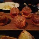 Lamb Meatball Sliders