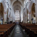 Looking down the Nave