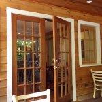 porch area looking towards inside