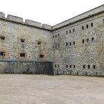 ein Innenhof der Festung