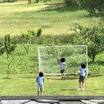 Il campetto da calcio