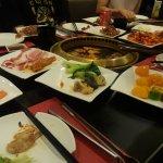 韓燒各種食物