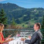 Terrasse im Tennerhof Hotel Kitzbühel