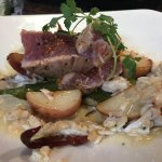 AHI TUNA & CRAB * BEST DAG MEAL THIS YEAR!!!! BROWN BUTTER...YUMMA