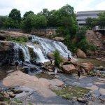 Waterfall on the Reedy