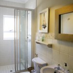 En Suite bathroom with shower.