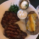 Steak and Baked Potatoes
