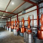 The distillery currently is home to 15 copper pot stills that make al of our vodkas & gins