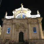 Church of Saint Blaise at night