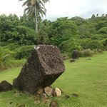 Some of the stone monoliths.