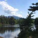 View of Mt. Mansfield and the Pond