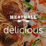 The best meatball and pizza
