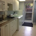 Kitchenette and private entrance