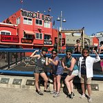 Our stop at Muscle Beach