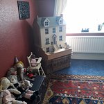 bears, cabbage patch dolls, a fully furnished wooden doll house. What's not to love?