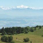 Cruex du Van seeing Mont Blanc